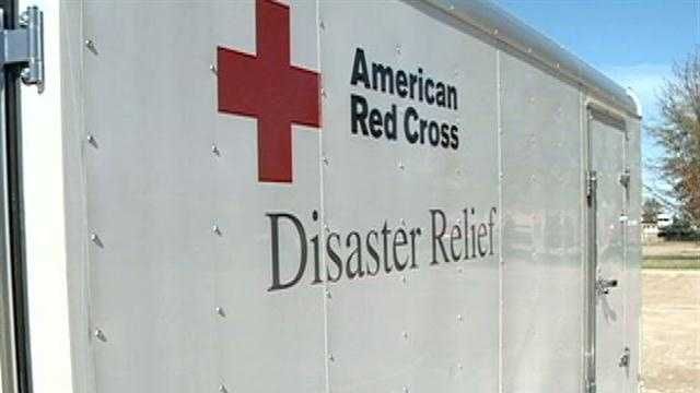 Red Cross volunteers from our area are helping families in the North East dealing with the aftermath of Hurricane Sandy.