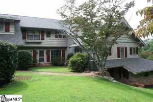 This Paris Mountain estate is located on 12 acres minutes from downtown Greenville.