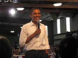 The most write-in votes of all in several different races went to President Barack Obama.