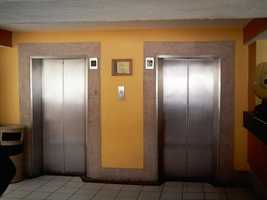 """And one vote, without explanation, was cast for """"Trapped in an elevator."""""""