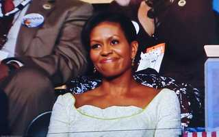 The President's wife, Michelle Obama, also got several write-in votes.