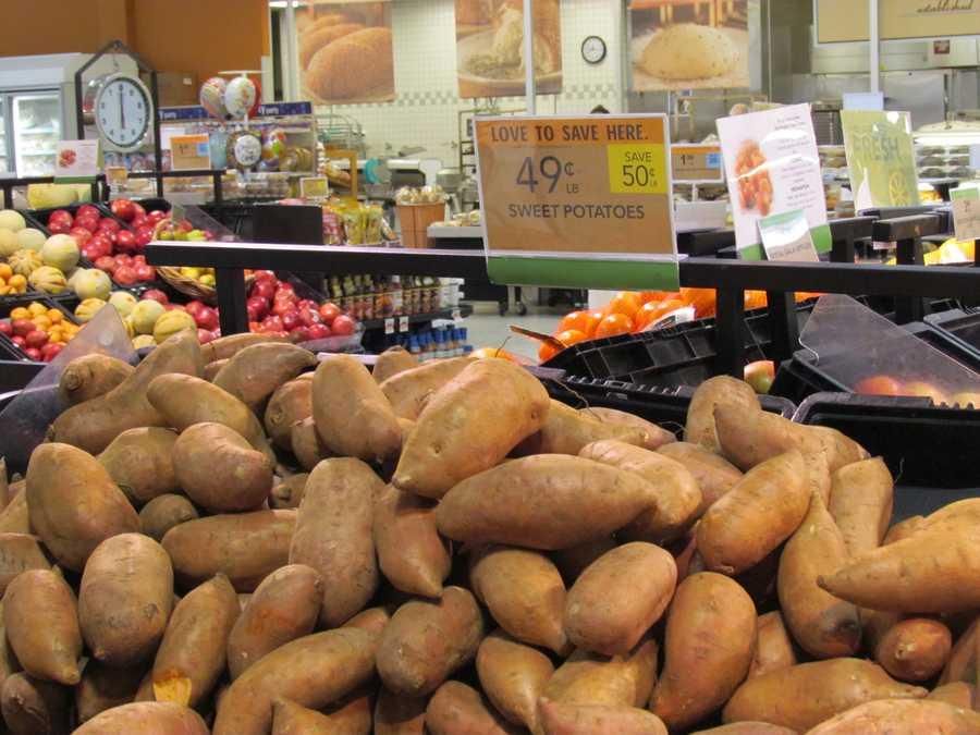 Publix sweet potatoes are $49 per pound.
