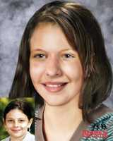 Raie Roxanne Jordan: Raie and her sister Rachelle (see next slide) have been missing since Dec. 4, 1998. They were last seen in Edgefield. The National Center for Missing and Exploited Children say the children were allegedly abducted by their mother, Marie Jordan. The picture insert was taken after the child went missing. The larger pictures is an age progression picture.