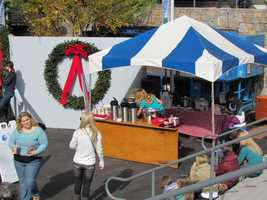 There is a concession with hot chocolate to take the chill off.