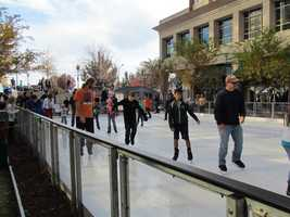 The rink will be open through Jan. 21.