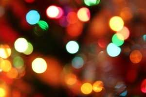 Use of lights that produce low heat, such as miniature lights, will reduce tree dryness.