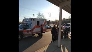 Ambulance at AJ Whittenberg
