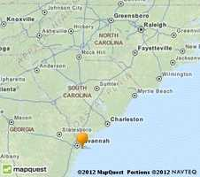 Bluffton is located near Savannah in the lower part of the state.