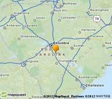 Hopkins is located near Columbia.