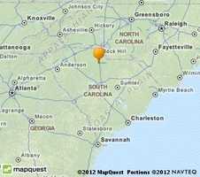 Rock Hill is located near the North Carolina stateline.