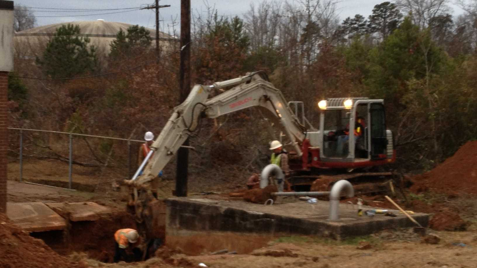 A water main break on Thursday affected a large area of Clemson, including Clemson University, Sandy Springs and Pendleton, according to the Anderson Regional Joint Water System.