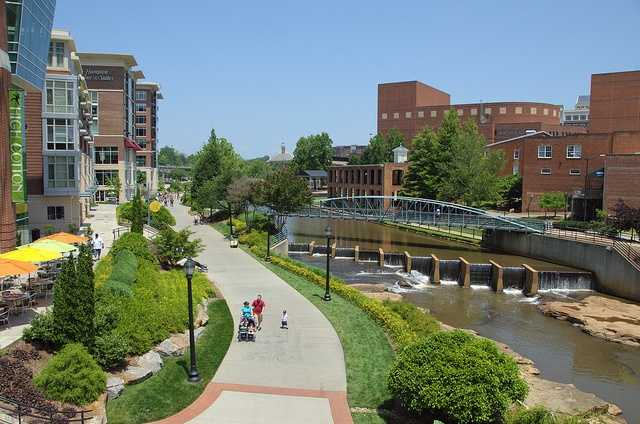 The City of Greenville has 896 employees.