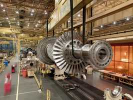 GE Energy employs 3,200 people in the Upstate plant that manufactures turbines and turbine generator sets.