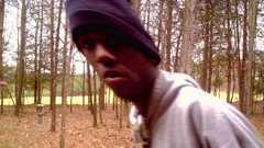 man caught on deer camera