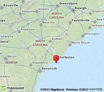 Mt. Pleasant is near Charleston.