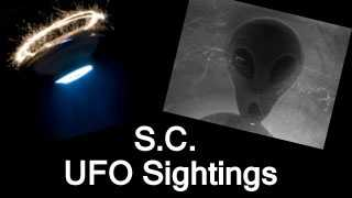 The National UFO reporting center records all UFO sightings and posts them on their website. These are the recent sightings reported in South Carolina. Disclaimer from National UFO reporting center: The National UFO Reporting Center makes no claims as to the validity of the information in any of these reports.