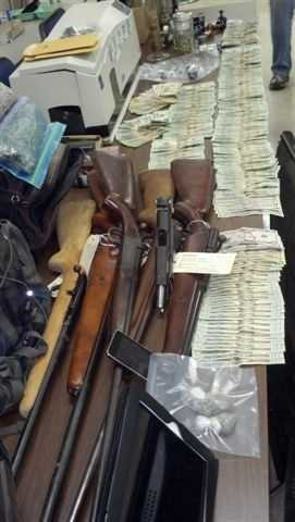 Deputies said that during the operation the following was seized: $6,351 in cash, more than 289 grams of high grade marijuana valued over $5000.00, one handgun that was reported stolen from Oconee County, 3 long guns, and various electronic equipment, including a professional grade ID card machine capable of placing a hologram on ID cards. The following slides show the people arrested during the operation.