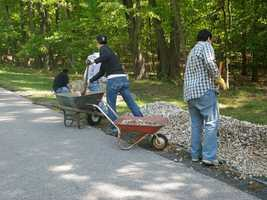 Grounds maintenance workers: $19,150, Positions in Greenville: 40