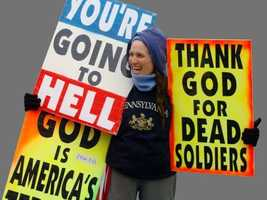 Another popular story on WYFF4.com was about Westboro planning a protest at the Upstate soldier's funeral. FULL STORY