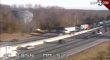 The story about a Ron Paul hot air balloon along the side of Interstate 85 causing traffic to slow down got a lot of clicks on WYFF4.com. FULL STORY