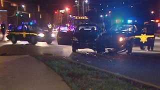 patrol car wreck