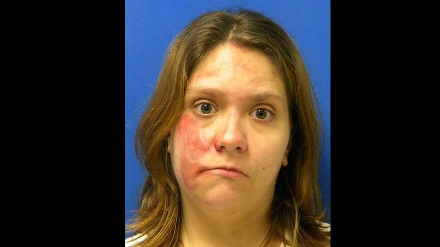 Samantha Gail Rhinehart: charged with felony DUI
