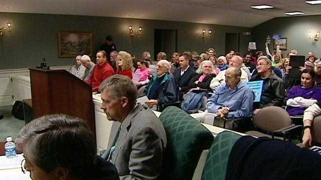 Fired police chief denied hearing