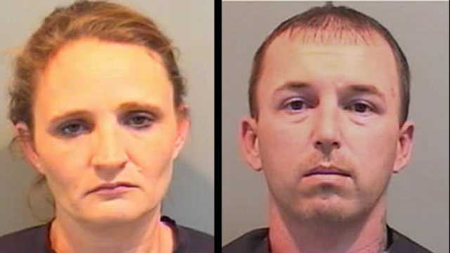 Teresa Best and Jason McGowan: Accused of stealing money from a vulnerable adult