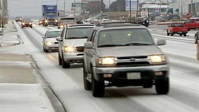 Upstate roads still dangerous overnight