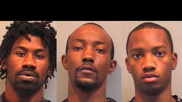 Latevin and Wendell Brannon, Markese Gregory: Accused of grand theft