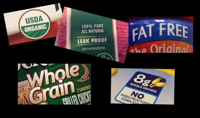Organic, all natural, fat free: Are you hungry to know what's really in that package? Here is a look at what the food labels you see on packages mean.