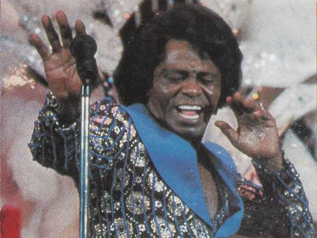 James Brown (1933-2006) Born in Barnwell, SC:  Recording artist James Brown was one of the founding fathers of funk, and is an icon of 20th century pop music and dance.