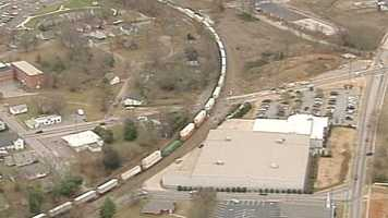A woman was killed by a train Wednesday afternoon.