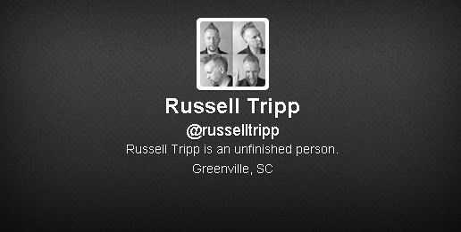Russell Tripp (@russelltripp): 14,327 followers