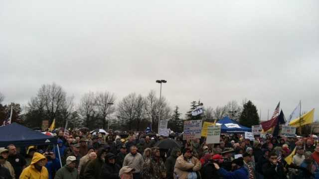 Huge rally takes place at Greenville County Square