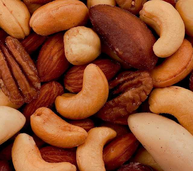 Eat nuts: Men's Health reported that Loma Linda University researchers tracked the lifestyle habits of 34,000 Seventh-Day Adventists, a population famous for longevity, they found that those who ate nuts 5 days a week, lived on average 2.9 years longer. Dr. Michael Roizen says five servings of nuts per week will lower the risk of belly fat, diabetes, heart disease and more, and cam even lower heart health-threatening LDL cholesterol by 10 points and high triglycerides by 20 points.