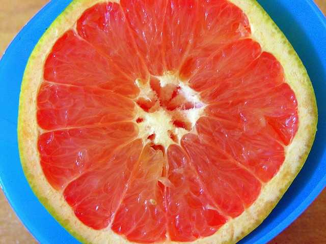 Eat grapefruit: According to Israeli scientists, eating one red grapefruit a day lowers bad cholesterol by 20 percent, even in people who don't respond to statins.