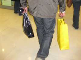 Go shopping: Taiwanese researchers found that with elderly people who live alone, those who shop daily were less likely to die than those who never went shopping. The impact was greatest for elderly men. Male daily shoppers were 28 percent less likely to die. Female shoppers were 23 percent less. Daily shopping might indicate overall good health, but researchers say the exercise and community connection may also be beneficial.