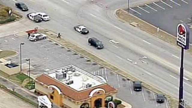 Man shot at Taco Bell