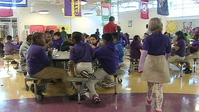 Upstate school offers free healthy dinners to students