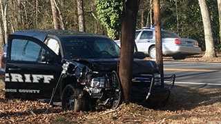 Deputy-involved wreck