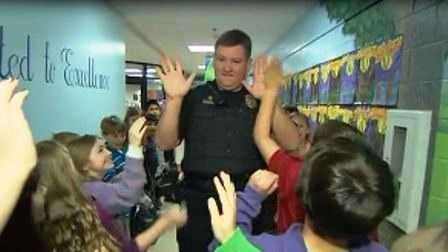 Plain Elementary police officer