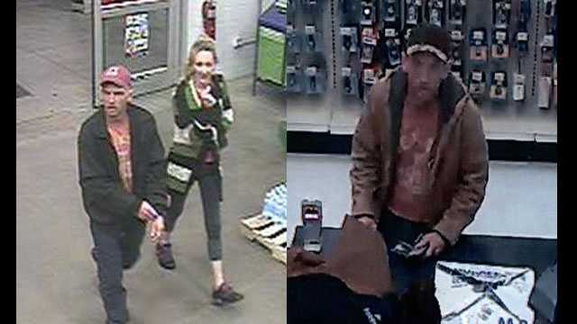 Counterfeit check cashing surveillance pics