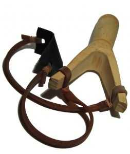 According to the city ordinance: Slingshots cannot be carried in public whether concealed or not.