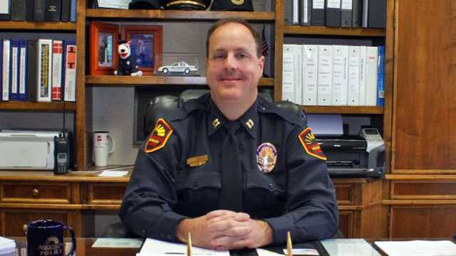 Anderson Police Chief Jim Stewart