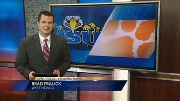 Brad anchors the 6 p.m. and 11 p.m. sportscasts, Monday through Friday.