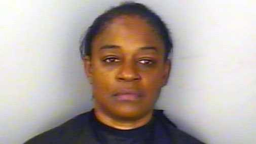 Michelle Thomas: Accused of criminal domestic violence