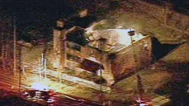 Asheville warehouse fire