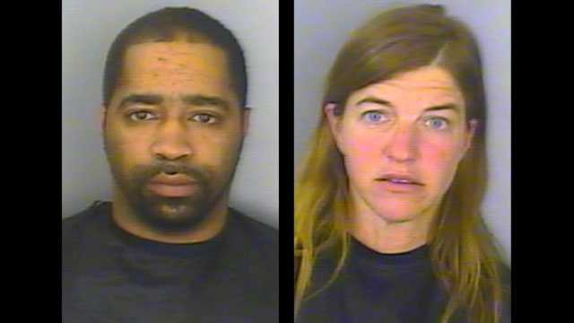 Holmes and Kelly: Accused of soliciting and solicitation of prostitution