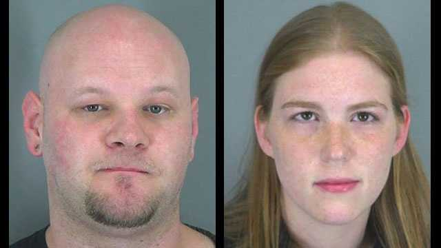 Laura Rogers and John Hyder: Charged with child neglect